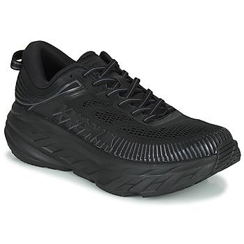 Schuhe Herren Sneaker Low Hoka one one BONDI 7 Schwarz