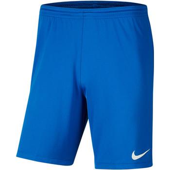 Kleidung Herren Shorts / Bermudas Nike Park III Knit Short NB Blau