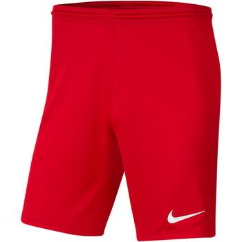 Kleidung Herren Shorts / Bermudas Nike Park III Knit Short NB Rot