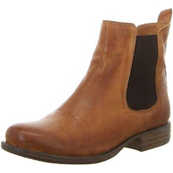 Schuhe Damen Low Boots Post Xchange Stiefeletten JESSY 850 3300 braun