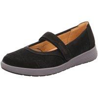 Schuhe Damen Ballerinas Ganter Slipper 52081620100 schwarz
