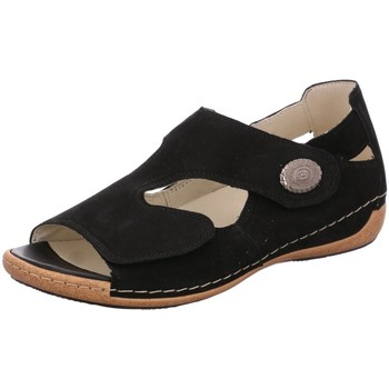 Schuhe Damen Sandalen / Sandaletten Waldläufer Sandaletten 342021-191/001 schwarz