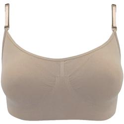 Kleidung Damen Sport BHs Silky  Nude