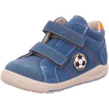Schuhe Jungen Babyschuhe Ricosta Klettschuhe Linu 2424000/141 blau