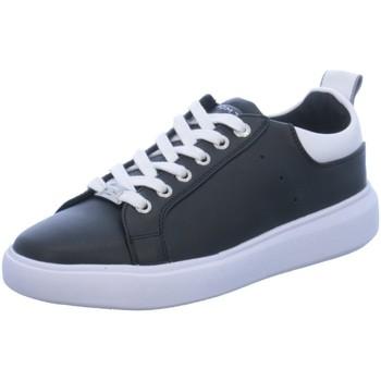 Schuhe Damen Sneaker Low Supremo SCHNÜRER 8090602 BLACK/WHITE schwarz