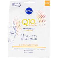 Beauty Damen Serum, Masken & Kuren Nivea Q10+ Vitamina C Anti-arrugas+energizer Kur/maske Facial 1 u