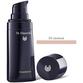 Beauty Damen Make-up & Foundation  Dr. Hauschka Foundation 03-chestnut