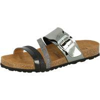 Schuhe Damen Pantoffel Lico Bioline fashion grau