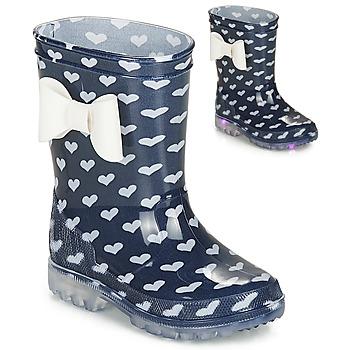Schuhe Mädchen Gummistiefel Be Only AMOUR FLASH Marine
