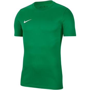 Kleidung Herren T-Shirts Nike Dry Park VII SS Jersey Grün