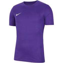 Kleidung Herren T-Shirts Nike Dry Park VII SS Jersey Violett