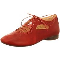 Schuhe Damen Richelieu Think Schnuerschuhe Guad rot