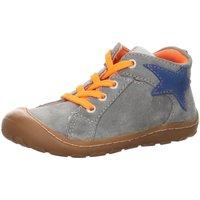 Schuhe Jungen Babyschuhe Salamander Schnuerschuhe goldy grey suede 33-14464-45 grau