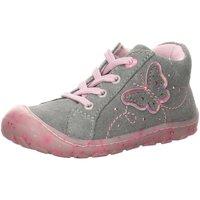 Schuhe Mädchen Babyschuhe Lurchi By Salamander Maedchen Kn.Schnürer grau
