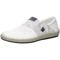 Schuhe Herren Slipper Krisbut Slipper 5164-7-1 weiß