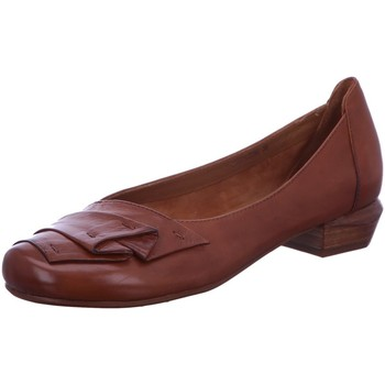 Schuhe Damen Pumps Everybody Geranio Slipper cognac 23327L2296-cuoio braun
