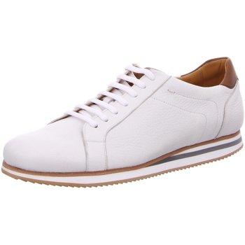 Schuhe Herren Sneaker Low Berwick 1707 Schnuerschuhe 5000 Ciervo Blanco weiß