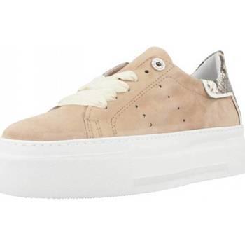 Schuhe Damen Sneaker Low Alpe 4639 12 Brown