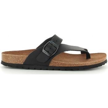 Schuhe Damen Sandalen / Sandaletten Interbios 7119 negro Noir
