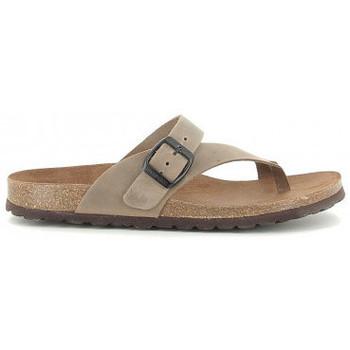 Schuhe Damen Sandalen / Sandaletten Interbios 7119 taupe Beige