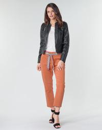 Kleidung Damen Chinohosen Vero Moda VMSVEA Orange