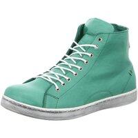 Schuhe Damen Sneaker High Andrea Conti Stiefeletten 0341500041 grün