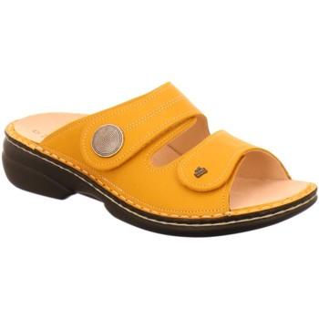 Schuhe Damen Pantoffel Finn Comfort Pantoletten Sansibar sunset 02550-629427 gelb