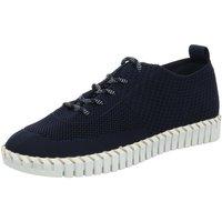 Schuhe Damen Sneaker Low La Strada Schnuerschuhe 1903190-4560 1903190-4560 blau