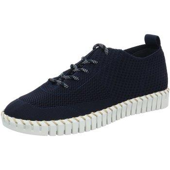 Schuhe Damen Sneaker Low La Strada Schnuerschuhe Sneaker 1903190-4560 blau