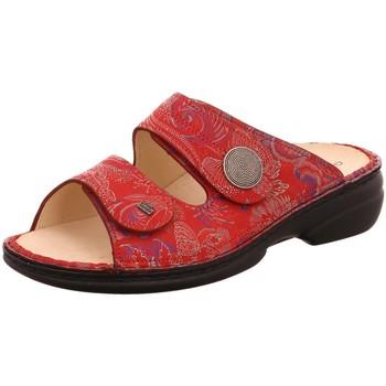 Schuhe Damen Pantoffel Finn Comfort Pantoletten SANSIBAR 02550-657420 657420 rot