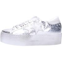 Schuhe Damen Sneaker Low 2 Stars 2246 Multicolore