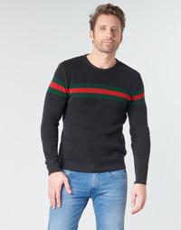 Kleidung Herren Pullover Casual Attitude BAOLI Schwarz