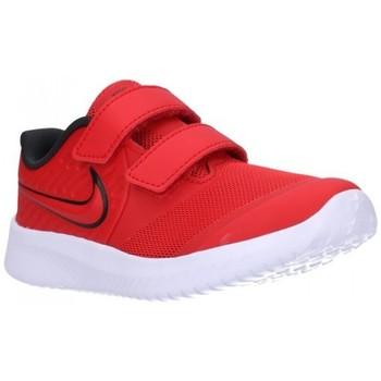 Schuhe Jungen Sneaker Low Nike AT1803 (600) Niño Rojo rouge