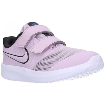 Schuhe Kinder Sneaker Low Nike AT1803 (501) Niño Morado violet