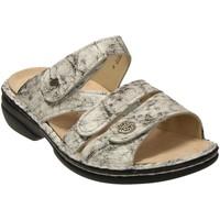 Schuhe Damen Pantoffel Finn Comfort Pantoletten VENTURA-S 82568674404 674404 grau