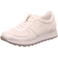 Schuhe Damen Sneaker Low Waldläufer Schnuerschuhe BUFA MEMPHIS JASMINSTR. H64001-501/989 weiß