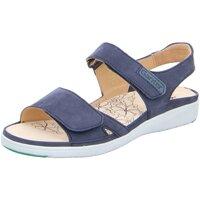 Schuhe Damen Sandalen / Sandaletten Ganter Sandaletten 9-200122-3500 blau