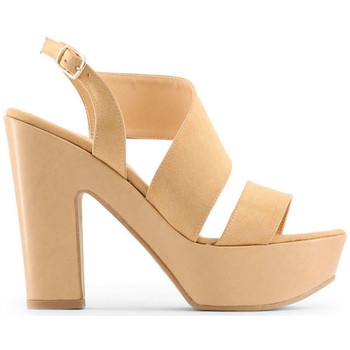 Schuhe Damen Sandalen / Sandaletten Made In Italia - fiammetta Braun