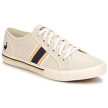 Schuhe Herren Sneaker Low Le Coq Sportif SAINT TROPEZ LINEN Gelb