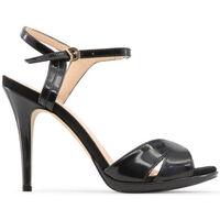 Schuhe Damen Sandalen / Sandaletten Made In Italia - perla Schwarz