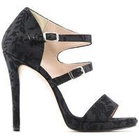 Schuhe Damen Sandalen / Sandaletten Made In Italia - iride Schwarz