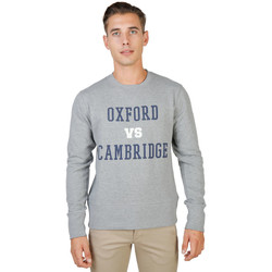 Kleidung Herren Sweatshirts Oxford University - oxford-fleece-crewneck Grau