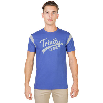 Kleidung Herren T-Shirts Oxford University - trinity-varsity-mm Blau