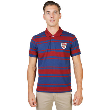 Kleidung Herren Polohemden Oxford University - queens-rugby-mm Rot