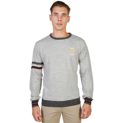 Kleidung Herren Pullover Oxford University - oxford_tricot-crewneck Grau