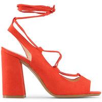 Schuhe Damen Sandalen / Sandaletten Made In Italia - linda Rot