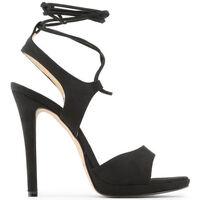 Schuhe Damen Sandalen / Sandaletten Made In Italia - erica Schwarz