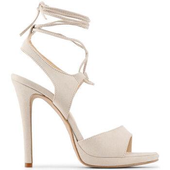 Schuhe Damen Sandalen / Sandaletten Made In Italia - erica Braun