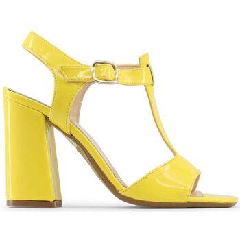 Schuhe Damen Sandalen / Sandaletten Made In Italia - arianna Gelb