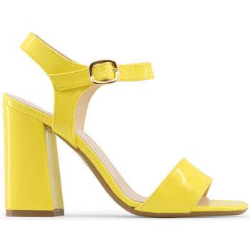Schuhe Damen Sandalen / Sandaletten Made In Italia - angela Gelb